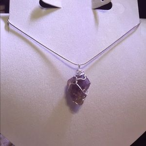 🦋HOST PICK 🦋Sterling Silver Amethyst Necklace